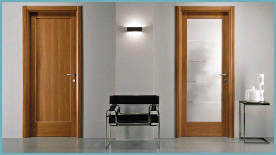 виды дверей для ванной
