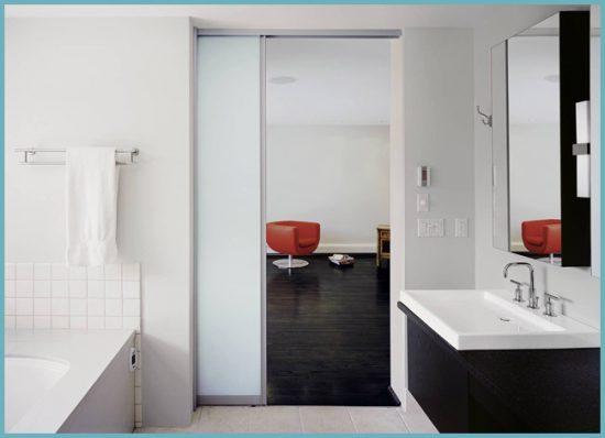 раздвижные двери для ванны