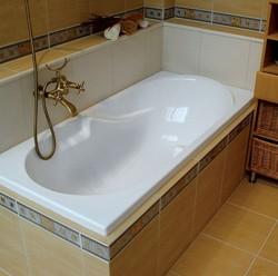 как убрать желтый налет на ванне