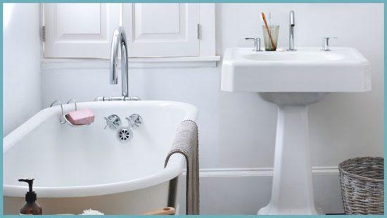 как правильно чистить ванну