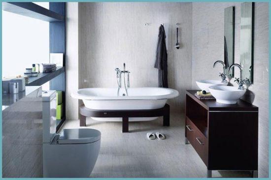 чугунная ванна в дизайне