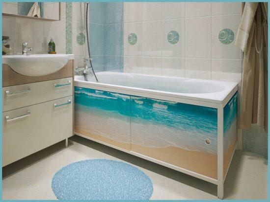 Экраны для ванной фото