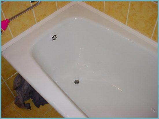 плюсы реставрации ванны акрилом