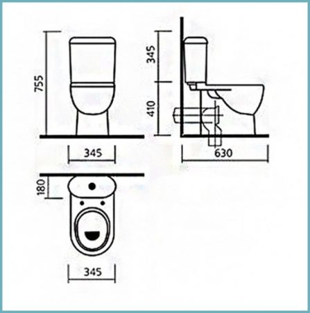 модели унитазов санита