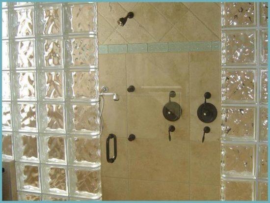 стеклоблоки для душевой кабины