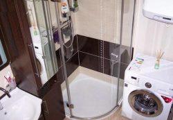 душевая кабина для маленькой ванной