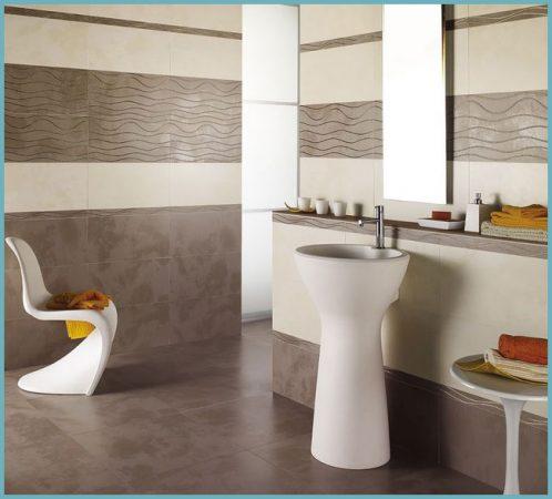 цвета в интерьере ванной