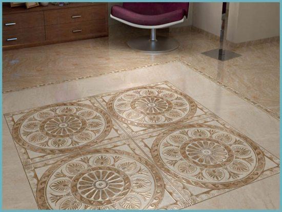 керамогранитная плитка в дизайне интерьера