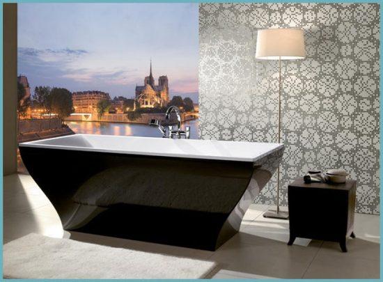 дизайн квариловых ванн