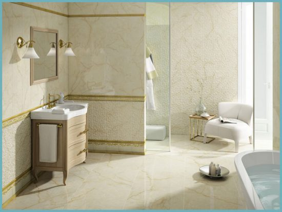 цвет мраморной плитки для ванной