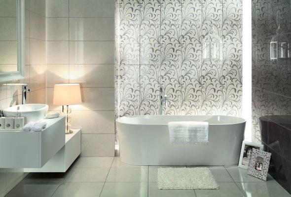 Стены в ванной комнате