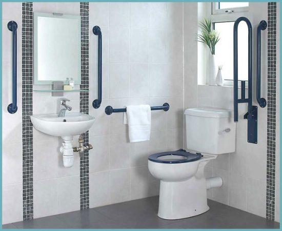 поручни в ванной для инвалидов