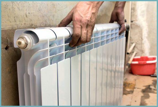 как правильно поставить радиатор