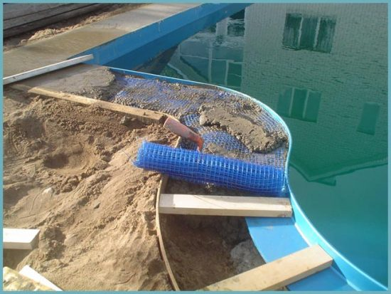 оборудование бассейна