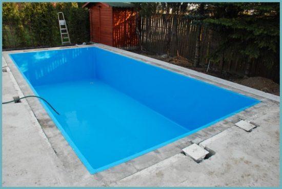 Плёнка для бассейна: выбор и установка своими руками (фото и видео)