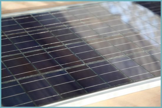 монтаж солнечной панели