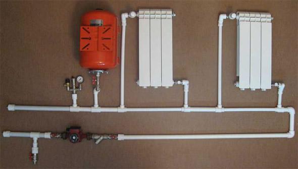 Система отопления для частного дома