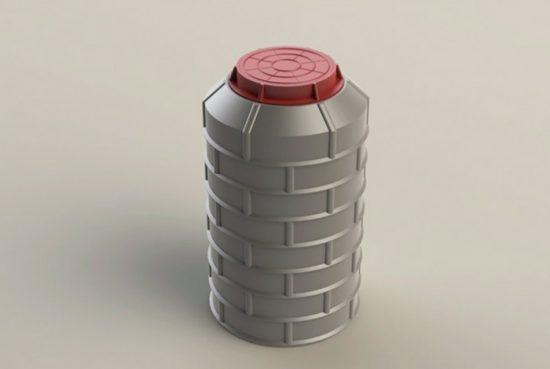 полимерпесчаный колодец