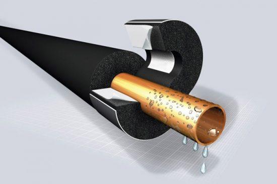 утеплитель для труб из вспененного полиэтилена