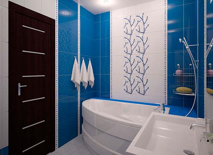 планировка ванной без туалета
