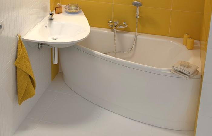 ванна для маленькой комнаты