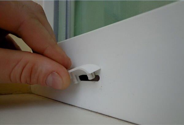 Отверстия для вентиляции на стеклопакетах