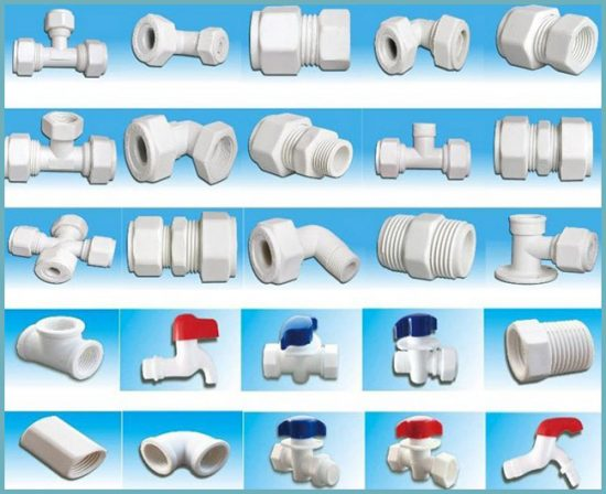 виды соединения водопроводных труб