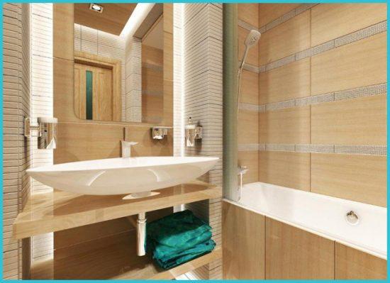сантехника в дизайне ванной комнаты в хрущевке