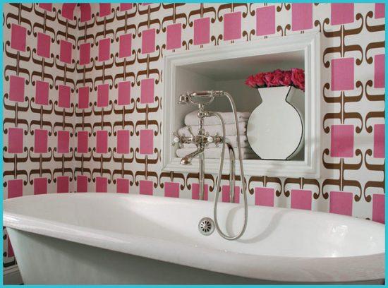 Выбор качественных обоев для ванной