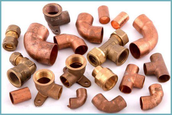 как соединить медную трубу и металопластиковую