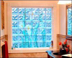 Окна из стеклоблоков