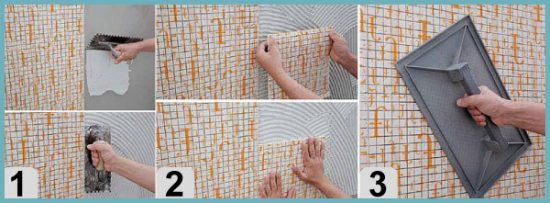укладка керамической мозаики своими руками