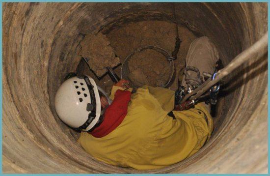 техника безопасности при строительстве шахтного колодца