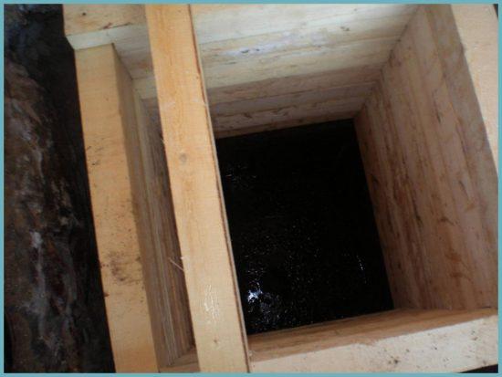 Строительство деревянного колодца своими руками