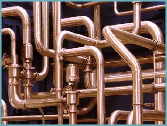 устройство водопровода из медных труб
