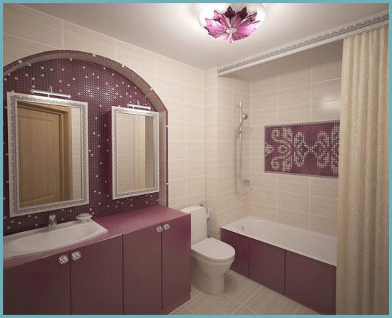 дополнительные источники света в ванной 4 кв м