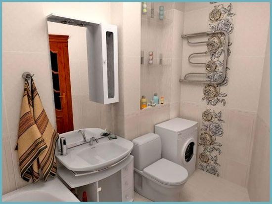 дизайн интерьера ванной в хрущевке