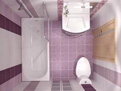 Дизайн ванной в хрущевке