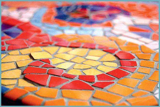 виды мозаики для интерьера ванной комнаты