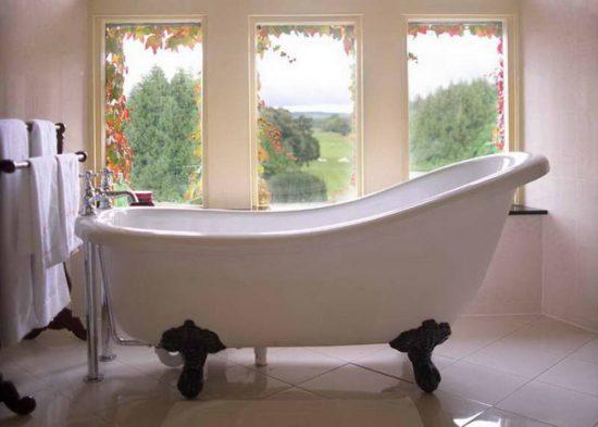 Стиль прованс для ванной комнаты
