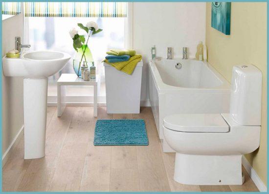 выбор цвета для ванной маленького размера