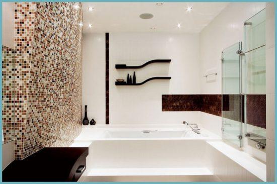 как выглядит ванная в современном стиле