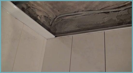 как подготовить потолок к отделке
