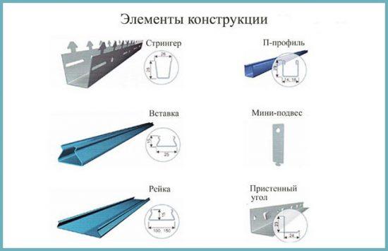 как сделать подвесной реечный потолок своими руками