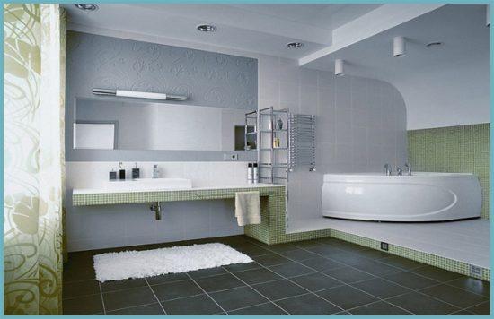кафельный стиль ванной комнаты