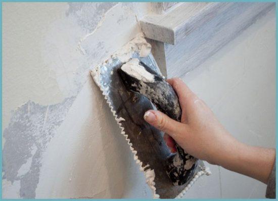 подготовка стен к нанесению жидких обоев