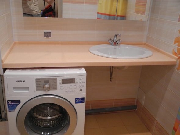 столешница для раковины и стиральной машины