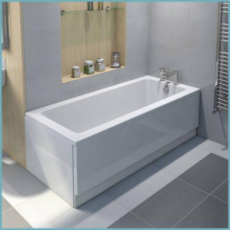 виды экранов для ванны