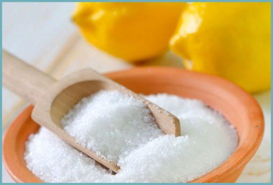 как очистить унитаз лимонной кислотой