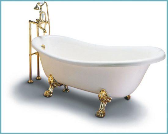 как правильно чистить чугунную ванну